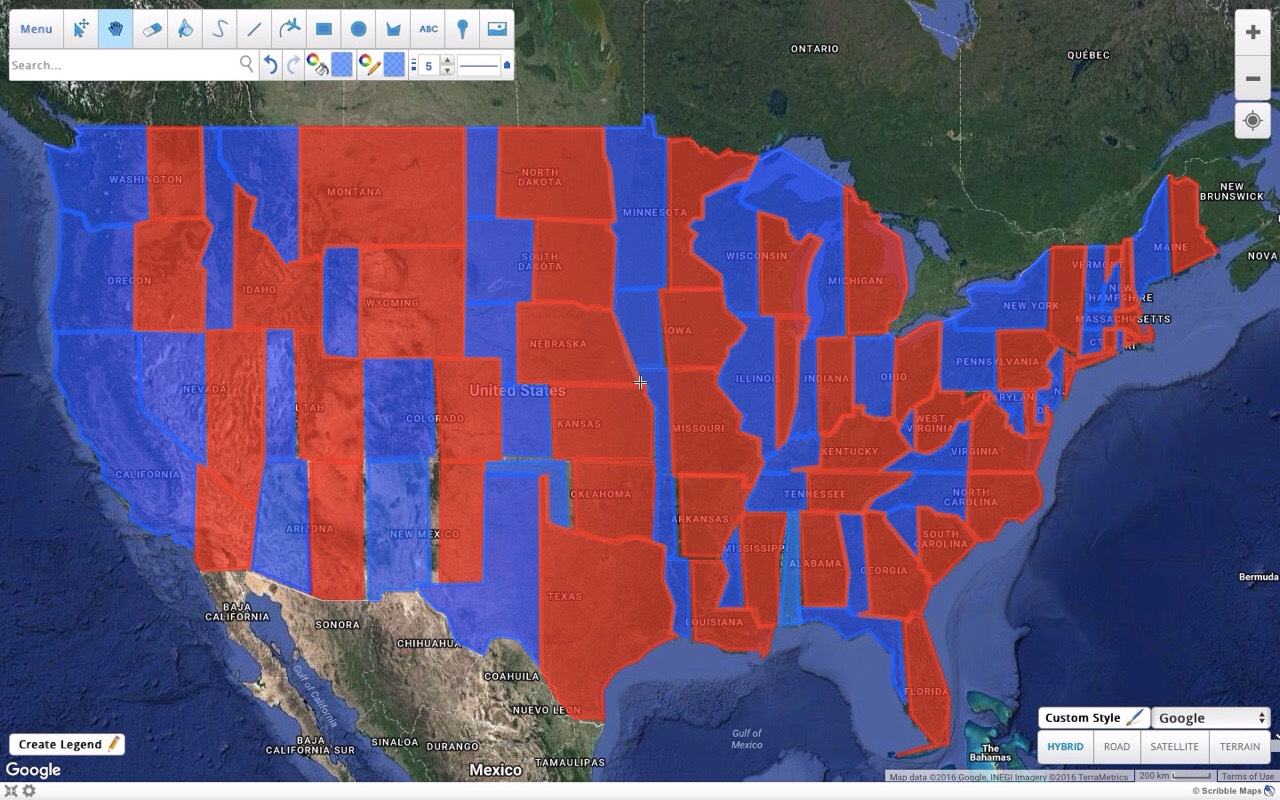 Map Of America Voting.Voting Map Indivisiblect